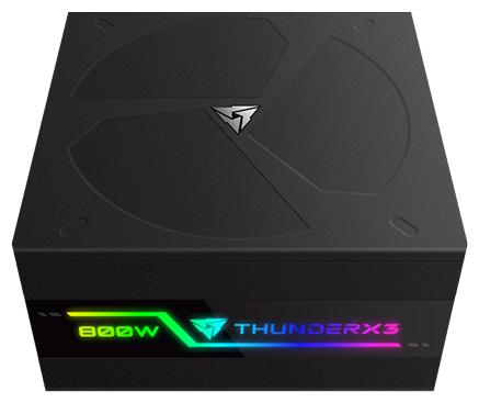 БП ATX 800 Вт ThunderX3 PLEXUS 800 (TEPG-PL80FEC.R1)