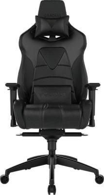 Кресло геймерское GAMDIAS HERCULES M1 L black hercules series black ladder back metal restaurant chair with black vinyl seat