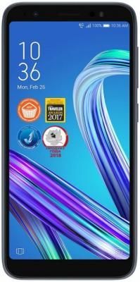 Смартфон ASUS Zenfone Live L1 ZA550KL 16 Гб черный (90AX00R1-M00130) сотовый телефон asus zenfone live l1 za550kl 2 16gb gold