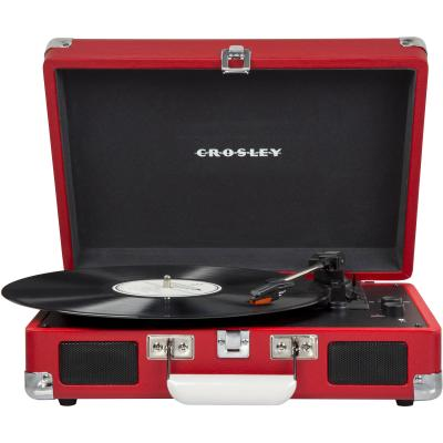 Виниловый проигрыватель CROSLEY CRUISER DELUXE [CR8005D-RE] c Bluetooth crosley executive brown black
