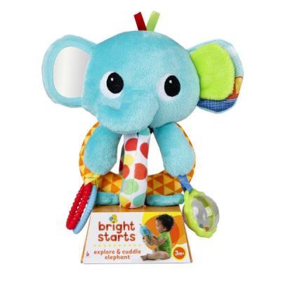 Развивающая игрушка Bright Starts Ласковый слонёнок portable ultra bright waterproof aluminum alloy mini led flashlight