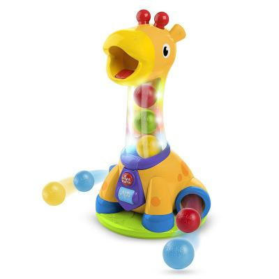 Купить Развивающая игрушка Bright Starts Веселый жирафик , Развивающие центры для малышей