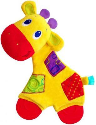 Развивающая игрушка Bright Starts Самый мягкий друг Жираф (с прорезывателями) игрушка подвеска bright starts развивающая игрушка щенок