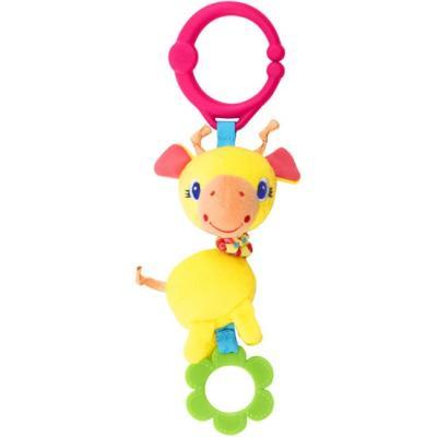 Развивающая игрушка Bright Starts Дрожащий дружок Жираф игрушка подвеска bright starts развивающая игрушка щенок