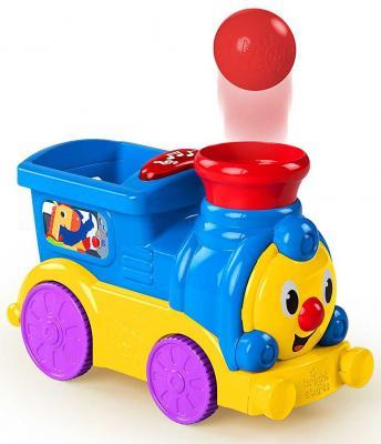 Веселый паровозик Bright Starts с мячиками no name веселый паровозик с ремнем
