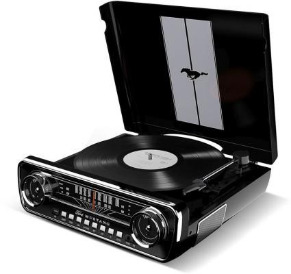 лучшая цена Виниловый проигрыватель ION MUSTANG LP с радио