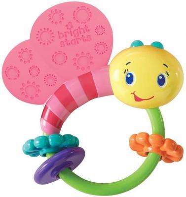 Купить Развивающая игрушка-погремушка Bright Starts Розовая бабочка , розовый, для девочки, Погремушки и прорезыватели