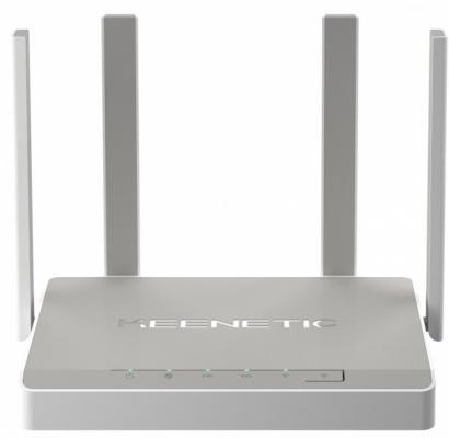 Беспроводной маршрутизатор Keenetic Ultra 802.11abgnac 2600Mbps 2.4 ГГц 5 ГГц 5xLAN USB серый KN-1810 цены онлайн