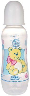 Купить Бутылочка Canpol PP (BPA 0%) с сил. соской, 12+ мес., 330 мл. арт. 59/205prz цвет белый, для мальчика, для девочки, Бутылочки для кормления