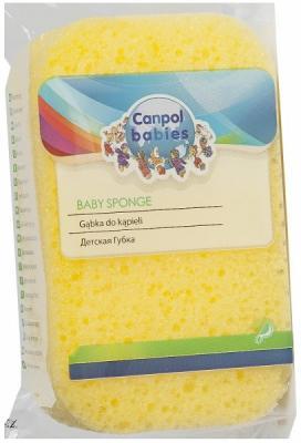 Губка Canpol &quot,Коралл&quot, желтый