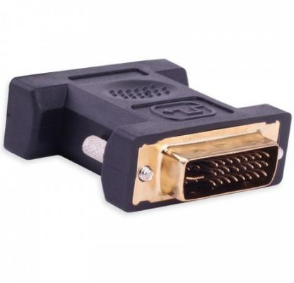 Адаптер-переходник Vention DVI-I 24+5 M/ VGA 15F переходник vention dvi i 24 5m vga 15f black