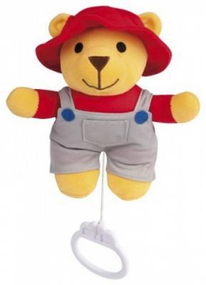 Купить Мягкая игрушка музыкальная мишка Canpol текстиль, разноцветный, Интерактивные мягкие игрушки