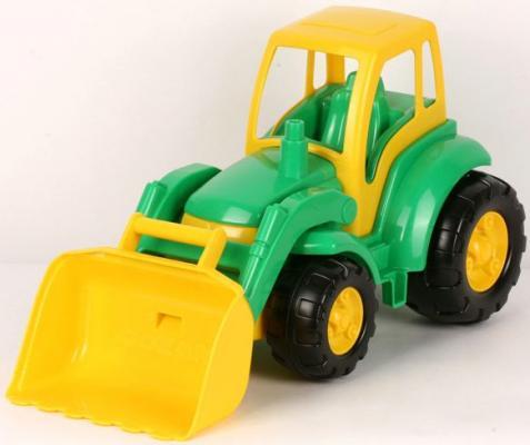 Трактор Полесье ЧЕМПИОН зеленый 0476 polesie трактор с лопатой и ковшом чемпион полесье