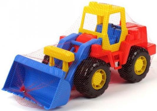 Трактор-погрузчик Полесье ТЕХНИК разноцветный 36988 wader трактор погрузчик с цистерной фермер техник разноцветный