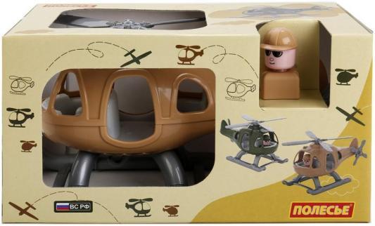 Вертолет Полесье ГРОМ-САФАРИ коричневый 67715