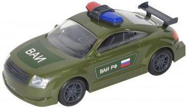 Автомобиль Полесье ВОЕННАЯ АВТОИНСПЕКЦИЯ зеленый 48684 полесье автомобиль альфа цвет оранжевый зеленый
