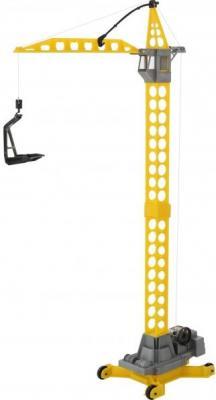 Купить Башенный кран Полесье АГАТ желтый 57167, ПОЛЕСЬЕ, Детские модели машинок