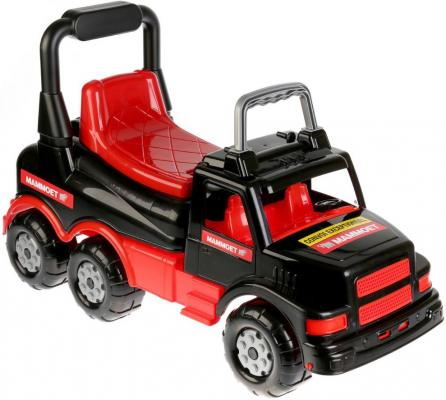 Купить Автомобиль Полесье MAMMOET черно-красный 56764, ПОЛЕСЬЕ, Детские модели машинок