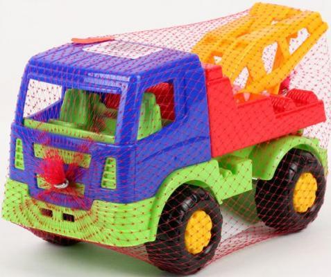 Эвакуатор Полесье САЛЮТ синий 8960 автомобиль эвакуатор полесье леон 52872 оранжевая кабина