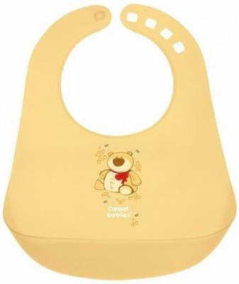 Нагрудник пластиковый Canpol арт. 2/404 цвет желтый