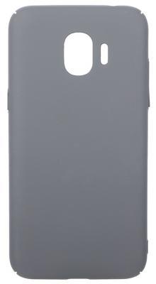 Чехол soft-touch для Samsung Galaxy J2 (2018)/J2 Pro (2018) DF sSlim-34 (charcoal grey) аксессуар чехол для samsung galaxy j2 2018 pero soft touch red prstc j218r