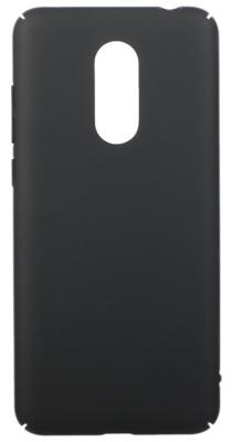 Чехол soft-touch для Xiaomi Redmi 5 Plus DF xiSlim-03 (black) чехол книжка red line book type для xiaomi redmi 5 plus black