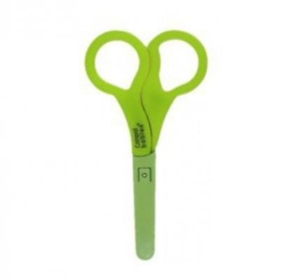 Ножницы безопасные в чехле Canpol арт. 2/809 цвет зеленый