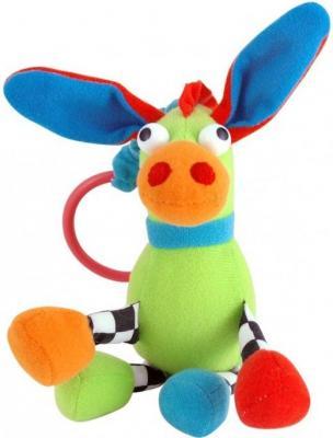 Купить Погремушка Canpol Сумасшедшие животные арт. 2/284, 0+, форма: осел, цвет: зеленый, унисекс, Погремушки и прорезыватели