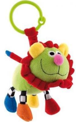 Купить Погремушка Canpol Сумасшедшие животные арт. 2/284, 0+, форма: лев, цвет: зеленый, унисекс, Погремушки и прорезыватели