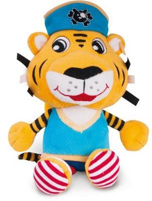 Купить Интерактивная игрушка Canpol Пират 68/035 лев с рождения, разноцветный, 23 см, плюш, унисекс, Игрушки-подвески
