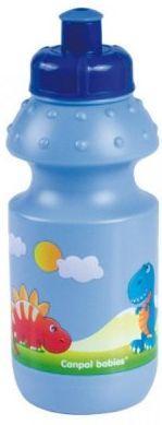 Поильник спортивный Canpol арт. 4/113, 12+ мес., 360 мл, цвет синий поильники canpol 370 мл 56 113