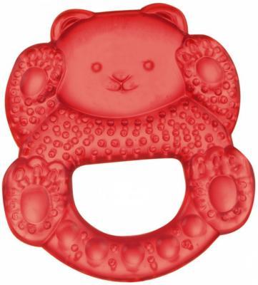 Прорезыватель водный Canpol Медвежонок красный с рождения охлаждающий 2/204