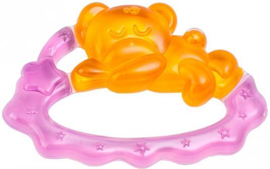 Прорезыватель водный Canpol Спящий медвежонок желтый с рождения охлаждающий 2/242