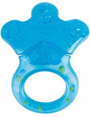 Прорезыватель водный Canpol Лапка голубой с рождения 56/136 прорезыватель водный с погремушкой canpol лапка 0 мес арт 56 136 цвет голубой