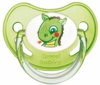 Купить Пустышка анатомическая Canpol Fairy Tale от 6 месяцев латекс зеленый 22/604, для девочки, для мальчика, Пустышки