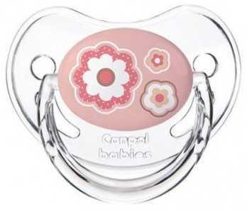 Пустышка анатомическая Canpol Newborn baby силикон, 0-6 мес., арт. 22/565 цвет розовый канпол пустышка анатомическая силиконовая 0 6 newborn baby