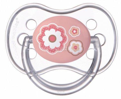 Фото - Пустышка круглая Canpol Newborn baby силикон, 6-18 мес., арт. 22/563 цвет розовый [супермаркет] jingdong геб scybe фил приблизительно круглая чашка установлена в вертикальном положении стеклянной чашки 290мла 6 z