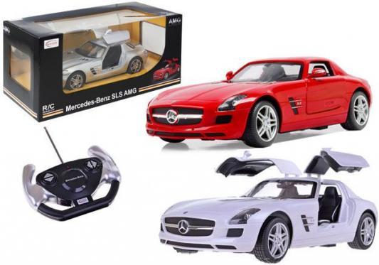 Автомобиль Rastar Mercedes-Benz SLS AMG 1:14 разноцветный 47600-RASTAR радиоуправляемые игрушки xq машина mercedes benz sls amg