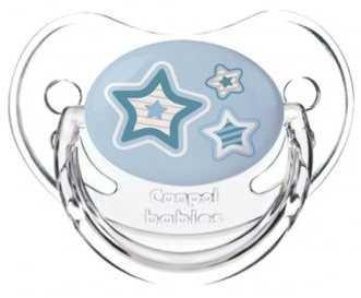 Пустышка анатомическая Canpol Newborn baby силикон, 6-18 мес., арт. 22/566 цвет голубой канпол пустышка анатомическая силиконовая 0 6 newborn baby