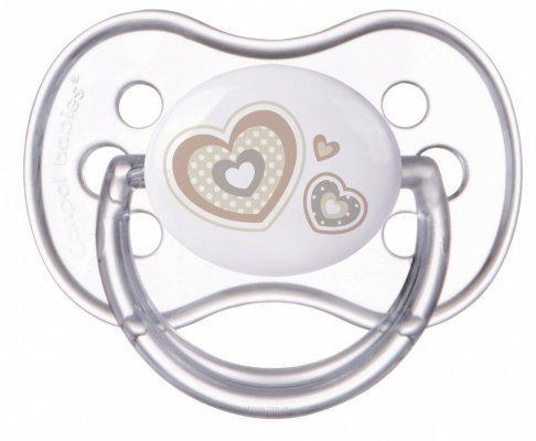 Фото - Пустышка круглая Canpol Newborn baby силикон, 6-18 мес., арт. 22/563 цвет белый [супермаркет] jingdong геб scybe фил приблизительно круглая чашка установлена в вертикальном положении стеклянной чашки 290мла 6 z