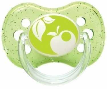 Купить Пустышка Canpol Природа с рождения силикон зеленый 22/410, для девочки, для мальчика, Пустышки