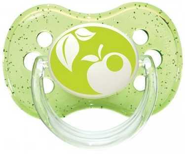Купить Пустышка Canpol Природа от 6 месяцев силикон зеленый 22/435, для девочки, для мальчика, Пустышки