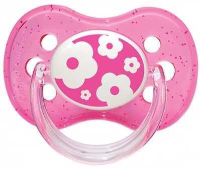 Купить Пустышка Canpol Природа от 6 месяцев силикон розовый 22/435, для девочки, Пустышки