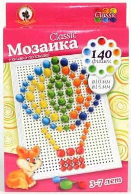 МОЗАИКА CLASSIC 140ЭЛ (d.10+15ММ) в кор.10шт мозаика русский стиль мозаика classic тюльпан 160 элементов d 10 15 мм большая плата