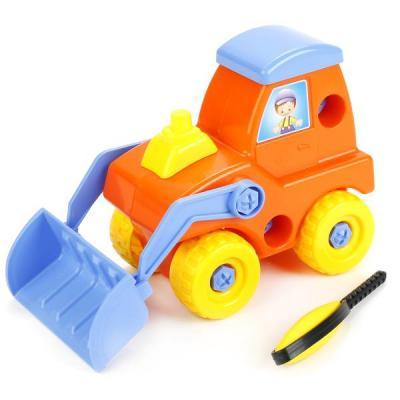 Конструктор Совтехстром Трактор У825 конструктор металлический грузовик и трактор 345 элементов