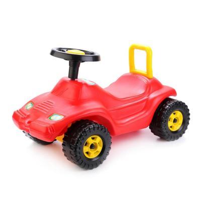 Каталка-машинка Совтехстром ГОНКА красный от 3 лет пластик У438 каталка машинка совтехстром полиция голубой от 3 лет пластик у440