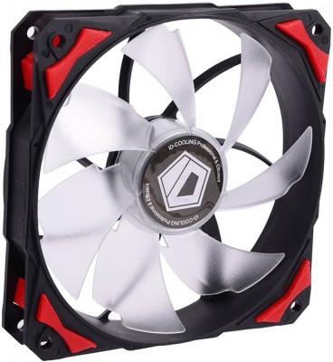Вентилятор ID-Cooling PL-12025-R Red LED/PWM controller water cooler pl 12025 120 mm led case fans 4 pin pwm control red green blue white