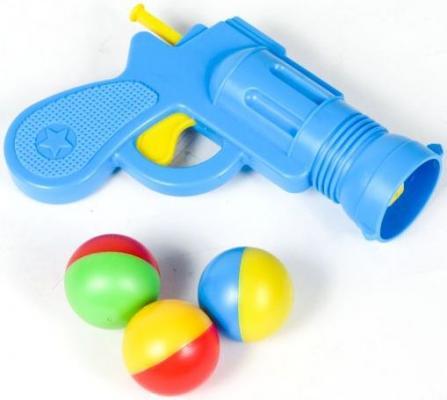 Пистолет Стеллар МАЛЕНЬКИЙ ШЕРИФ голубой 01340 CTEЛЛAP, 2.5x4x16 см, для мальчика, Игрушечное оружие  - купить со скидкой