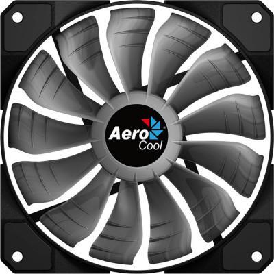 Вентилятор Aerocool P7-F12 [Project 7] , 120x120x25 мм, 16,8 миллионов цветов, 1600 RPM, 22,5 dBA, 62,58 CFM, 13 лопастей, съемный.