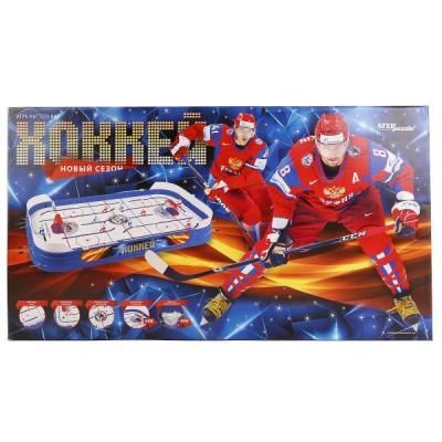 Настольная игра СТЕППАЗЛ семейная Хоккей 76195 игра настольная хоккей
